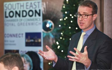 Executive Lunch with William Hobbs (Barclays) – DoubleTree by Hilton London   November 2017