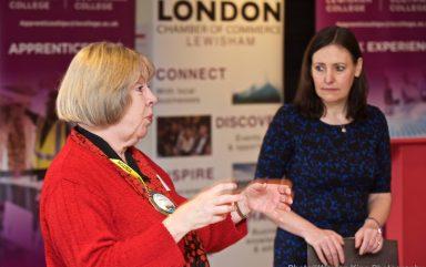 Lewisham Breakfast Meeting with Vicky Foxcroft  February 2020 at Lewisham College