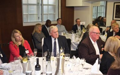 Executive Lunch with Deputy Mayor of London for Transport – Heidi Alexander, Sponsored by Conran Estates – DoubleTree by Hilton London Greenwich | March 2019