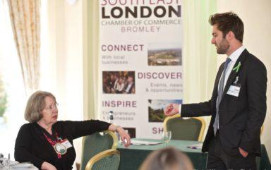 Executive Lunch with speaker Jack Garrett-Jones – The Bromley Court Hotel | April 2018